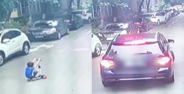 Bị ô tô cán qua người 2 lần khi đang chơi xe scooter giữa đường, bé trai 7 tuổi thiệt mạng vì lỗi sai sơ đẳng của người mẹ - Ảnh 2.