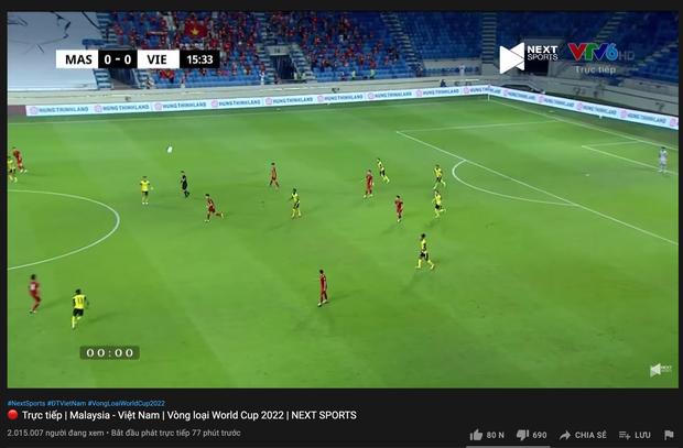 Sức nóng quá lớn, trận đấu Việt Nam - Malaysia hút lượng người xem cao không tưởng, ăn đứt trận gặp Indonesia - Ảnh 4.