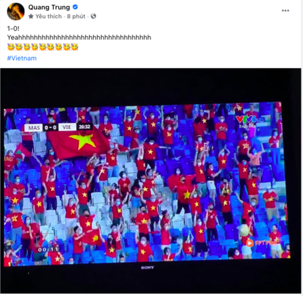 NGAY LÚC NÀY: Jack và cả showbiz đang đồng loạt gọi tên Tiến Linh sau bàn thắng mở tỷ số cho đội tuyển Việt Nam! - Ảnh 13.