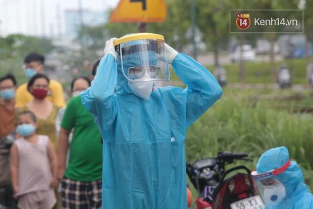 TP.HCM thông báo tìm người đến gian hàng rau, thịt, cá ở quận Tân Phú vì liên quan đến Covid-19 - Ảnh 1.
