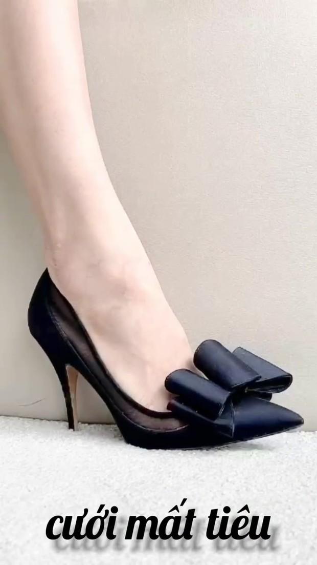 Clip: Hà Hồ mách nước cho chị em 7 loại giày xinh phù hợp mọi tình trạng hôn nhân, độc thân hay mẹ bỉm đều đi được hết! - Ảnh 5.
