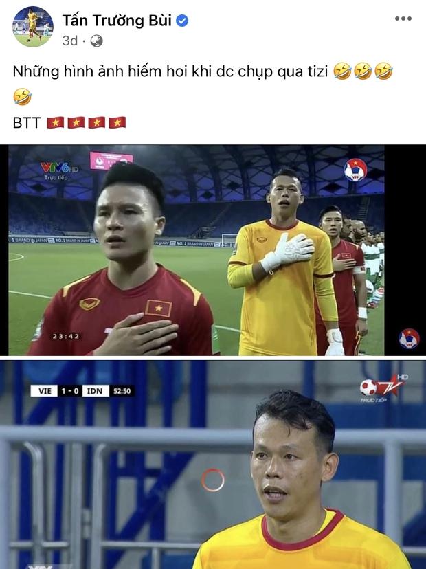Vựa muối mới của ĐT Việt Nam gọi tên ông chú thủ môn Tấn Trường: Vừa lầy vừa hài mà còn là chuyên gia MXH - Ảnh 7.