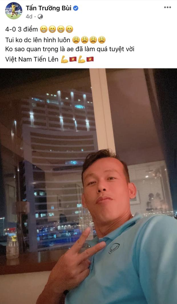 Vựa muối mới của ĐT Việt Nam gọi tên ông chú thủ môn Tấn Trường: Vừa lầy vừa hài mà còn là chuyên gia MXH - Ảnh 11.
