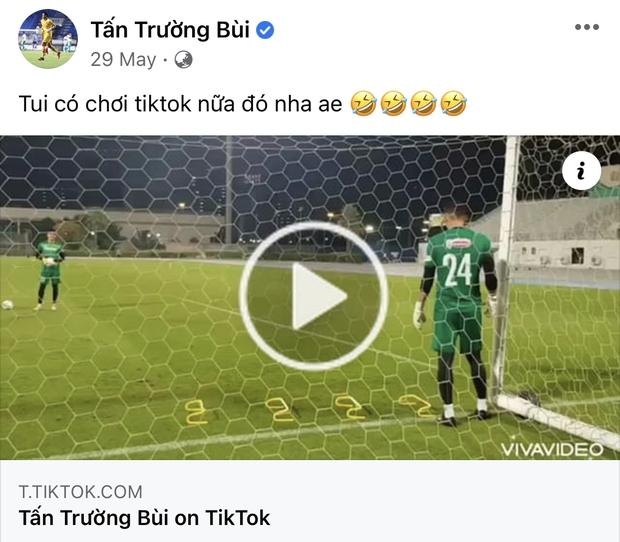 Vựa muối mới của ĐT Việt Nam gọi tên ông chú thủ môn Tấn Trường: Vừa lầy vừa hài mà còn là chuyên gia MXH - Ảnh 13.