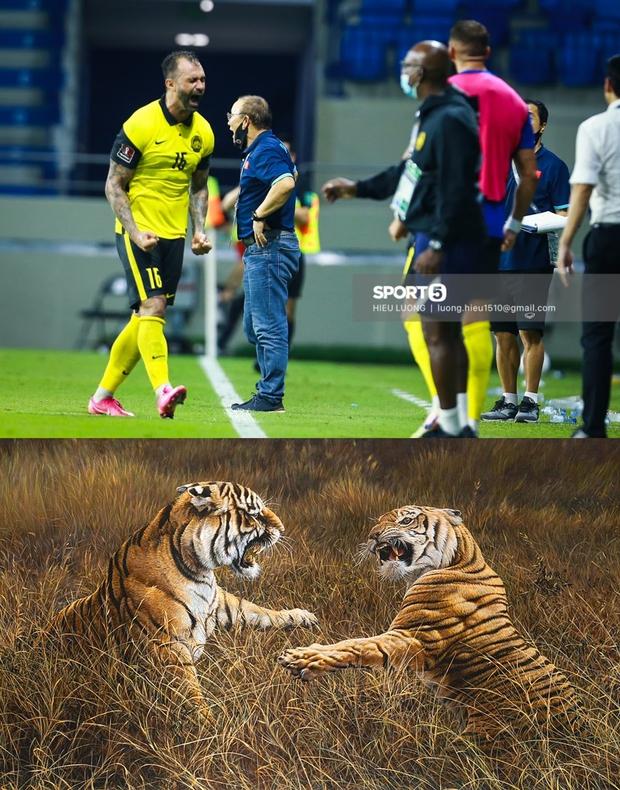 Loạt ảnh chế đội tuyển Việt Nam nở rộ sau trận gặp Malaysia: Duy Mạnh gắt gỏng cũng không hài bằng HLV Park Hang-seo! - Ảnh 8.
