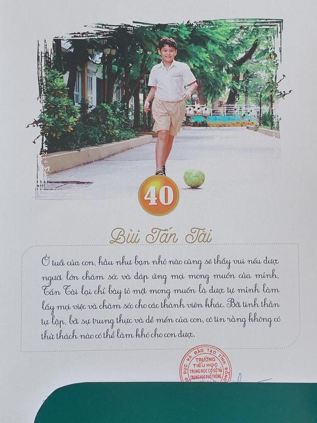 Ông chú Bùi Tấn Trường: Bắt bóng hay mà làm bố cũng xịn, nhìn nhận xét của cô giáo về con trai là rõ - Ảnh 6.