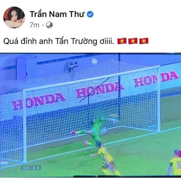 Sau trận Việt Nam thắng Malaysia, Lan Ngọc, Trương Quỳnh Anh và dàn sao nữ đồng loạt tỏ tình với 1 cầu thủ hot hit - Ảnh 7.
