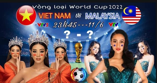Hòa nhịp bóng đá, tình chị em của Khánh Vân và Hoa hậu Malaysia liệu có bền lâu? - Ảnh 1.