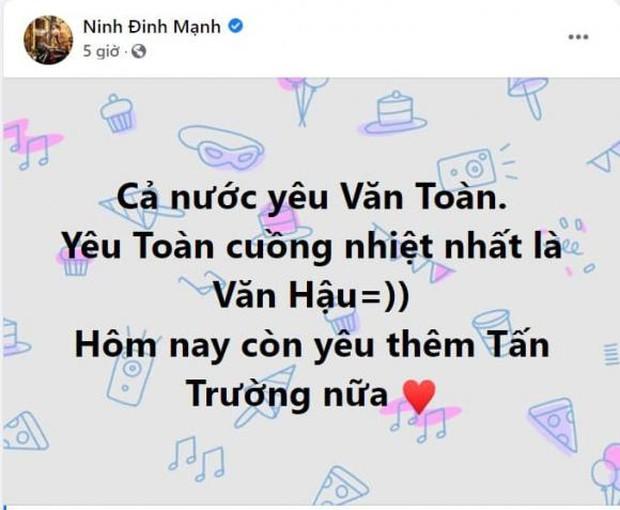 Sau trận Việt Nam thắng Malaysia, Lan Ngọc, Trương Quỳnh Anh và dàn sao nữ đồng loạt tỏ tình với 1 cầu thủ hot hit - Ảnh 9.