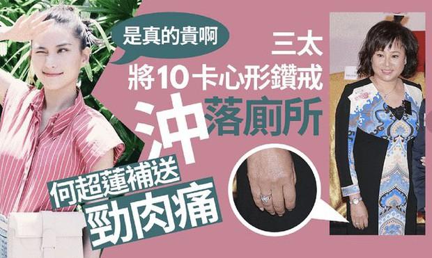 Chuyện nhà giàu: Giúp việc vứt nhẫn kim cương vào bồn cầu, ái nữ trùm sòng bạc tìm mua nhẫn 10 carat giá 28 tỷ tặng lại mẹ - Ảnh 3.