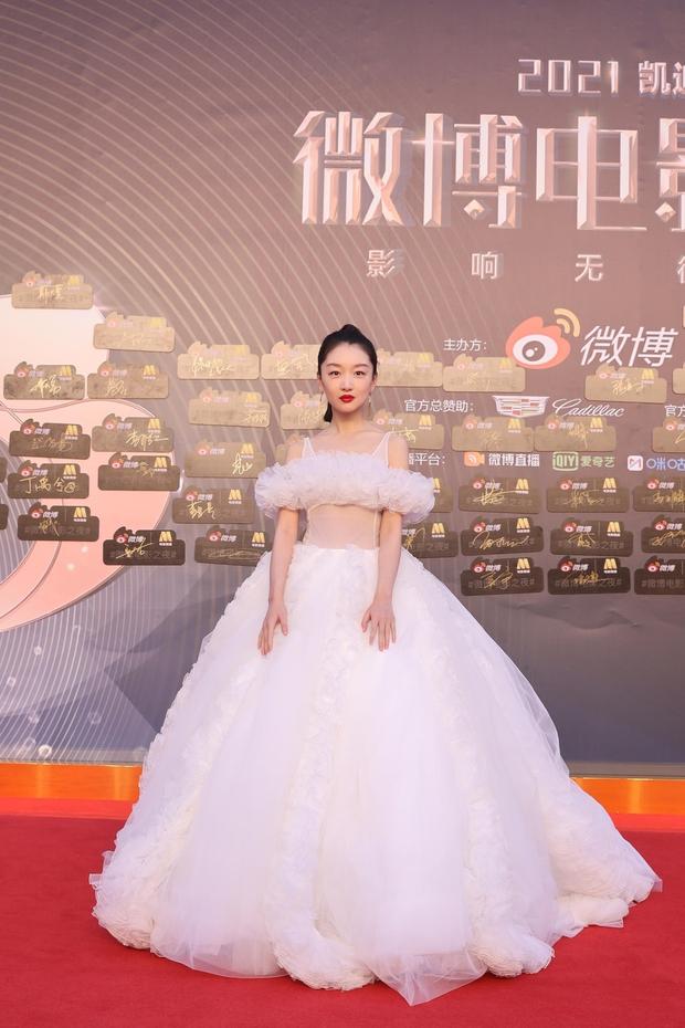 Thảm đỏ Đêm Điện ảnh Weibo: Âu Dương Na Na hoá tiên tử, đè bẹp Trương Quân Ninh già chát cùng dàn mỹ nhân - Ảnh 7.