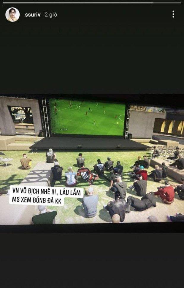 Độ Mixi, ViruSs rủ nhau xem bóng đá trong game, cổ vũ tuyển Việt Nam theo cách chuẩn sang xịn mịn, nhưng cũng không giống ai - Ảnh 2.