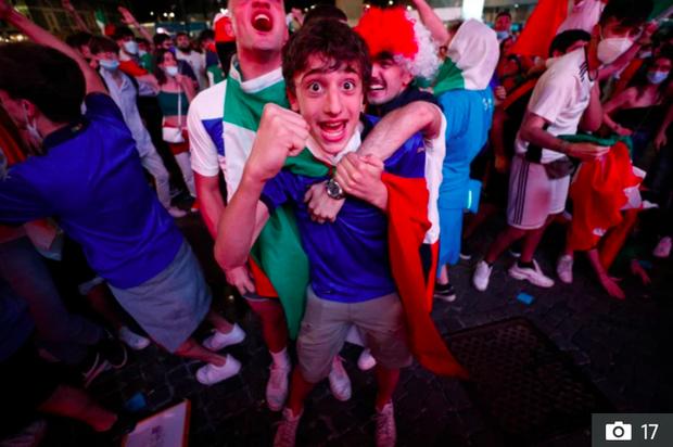 Hotgirl tràn ngập fanzone xem trận khai mạc Euro 2020 - Ảnh 11.