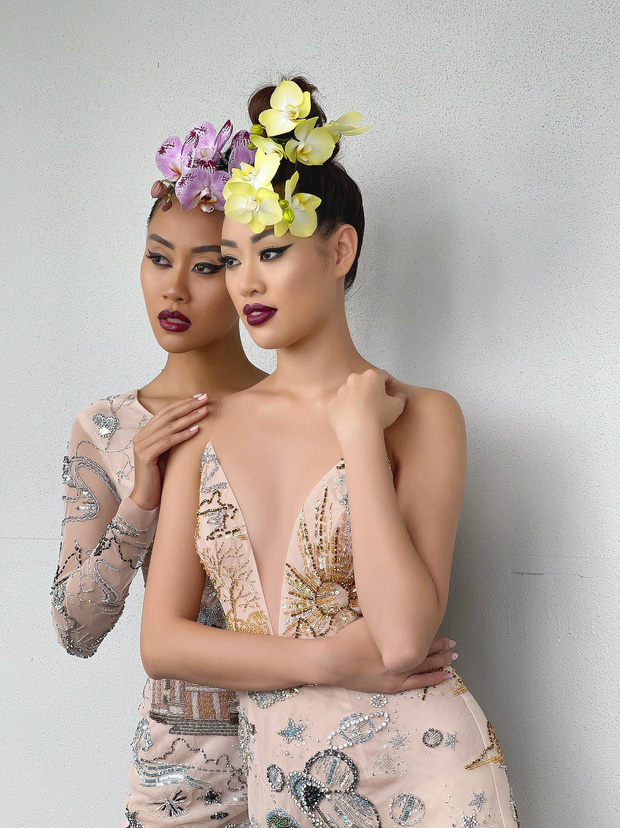 Hòa nhịp bóng đá, tình chị em của Khánh Vân và Hoa hậu Malaysia liệu có bền lâu? - Ảnh 5.