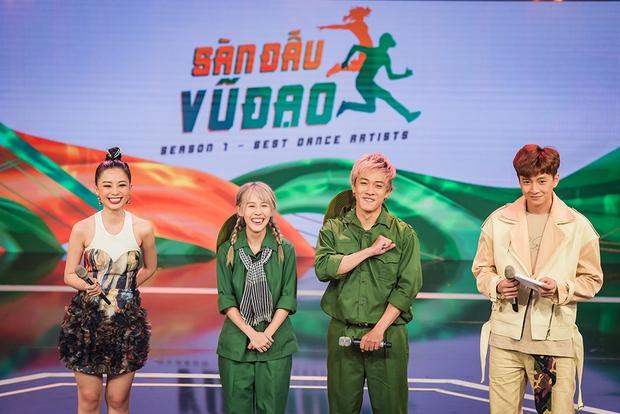 Hậu Hoàng hoá đồng chí Thuý Hậu, mang concept Sao Nhập Ngũ lên sân khấu nhảy Hip-hop! - Ảnh 3.