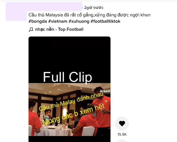 Xôn xao clip cầu thủ đội Malaysia đánh nhau sau chiến thắng của đội tuyển Quốc gia Việt Nam? - Ảnh 6.