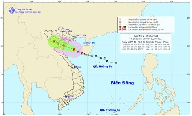 Tin bão mới nhất: Bão số 2 giật cấp 10, còn cách đất liền khoảng 135km - Ảnh 1.