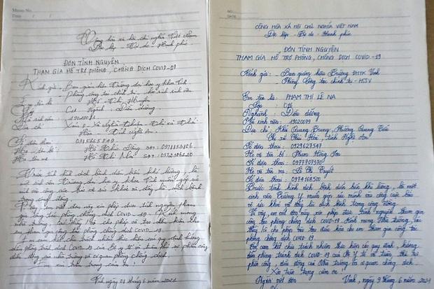 Hơn 1.000 sinh viên ĐH Y khoa Vinh viết đơn tình nguyện tham gia chống dịch - Ảnh 2.