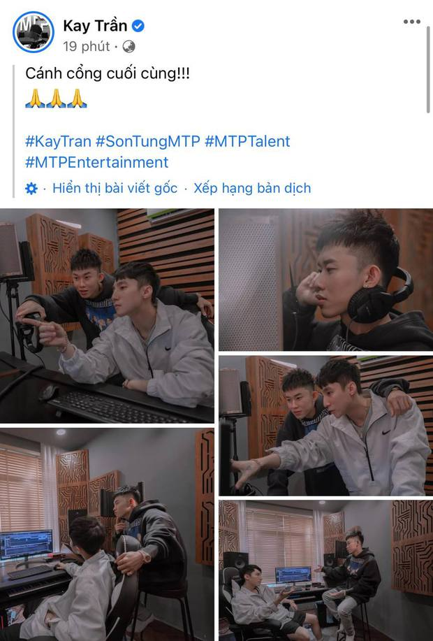 Kay Trần khoe ảnh thông báo đã làm đến khâu cuối cùng với Sơn Tùng, netizen phũ phàng: Giả trân! - Ảnh 2.