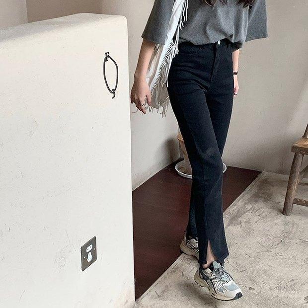 Gái Hàn có 8 cách mix đồ với quần đen, mỗi ngày diện một kiểu đảm bảo không sợ mang tiếng nhạt nhẽo! - Ảnh 15.