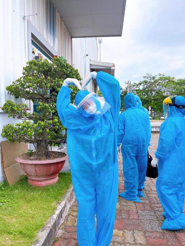 Những khoảnh khắc siêu cấp dễ thương của sinh viên trường Y tham gia chống dịch tại Bắc Ninh - Ảnh 4.