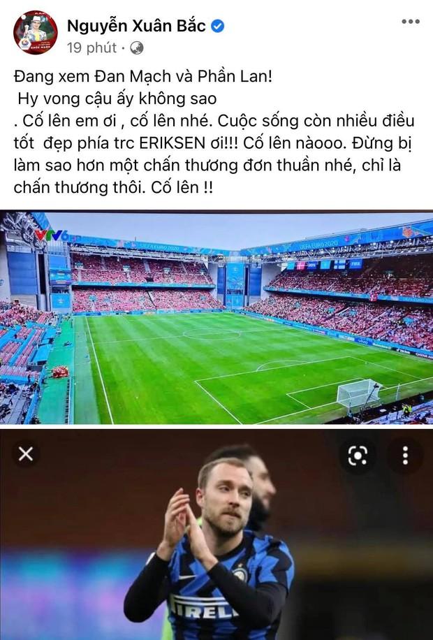 Diệu Nhi bật khóc, Trịnh Thăng Bình và dàn sao Việt cầu nguyện cho cầu thủ Erikse tuyển Đan Mạch đột quỵ trên sân đấu Euro - Ảnh 9.