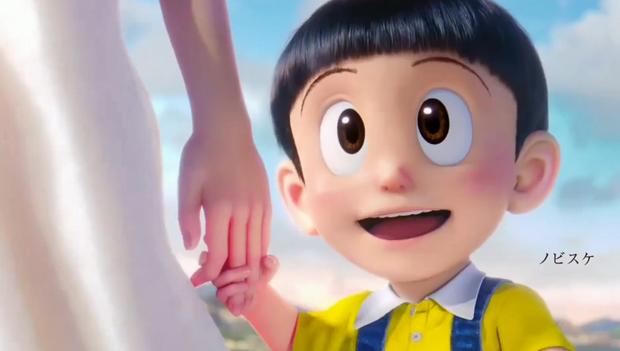 Lộ diện con trai của Nobita - Shizuka ở phim Doraemon mới: Liệu sẽ đẹp như mẹ hay tồ như cha đây? - Ảnh 3.