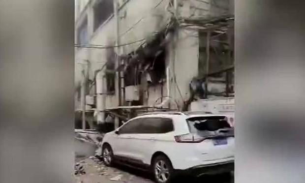 Nổ khí gas kinh hoàng ở Trung Quốc, gần 50 người thương vong - Ảnh 1.