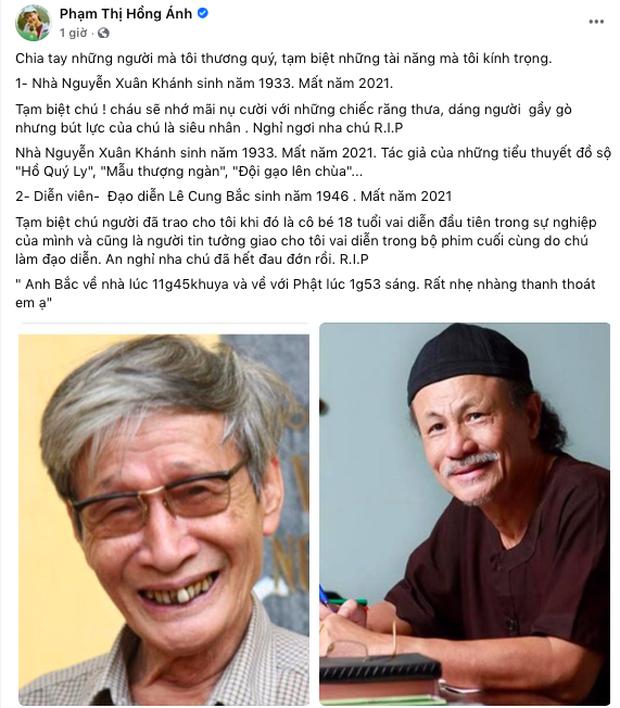 Đạo diễn phim Người Đẹp Tây Đô đột ngột qua đời, Thu Minh - Trịnh Kim Chi cùng dàn sao Vbiz xót xa nói lời tiễn biệt - Ảnh 4.