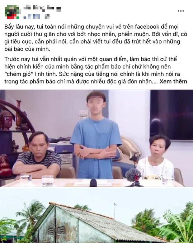 """Diễn viên Kiều Anh xót xa trước hoàn cảnh của Hồ Văn Cường, nhắc nhở ai đó: """"Hãy xây lại ngôi nhà cho bạn ấy đi"""" - Ảnh 1."""