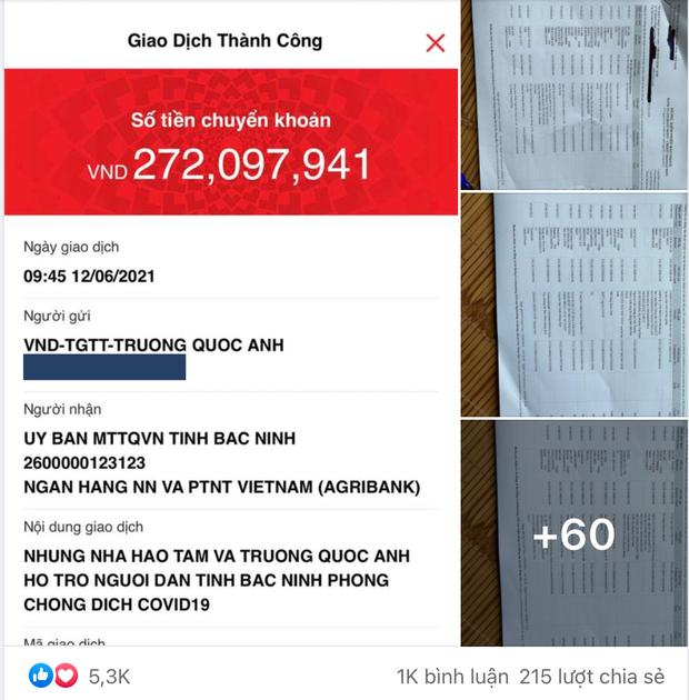 TikToker Trương Quốc Anh công khai sao kê từ thiện: Tiền quyên góp 278 triệu + 60 tờ giấy A4  - Ảnh 3.