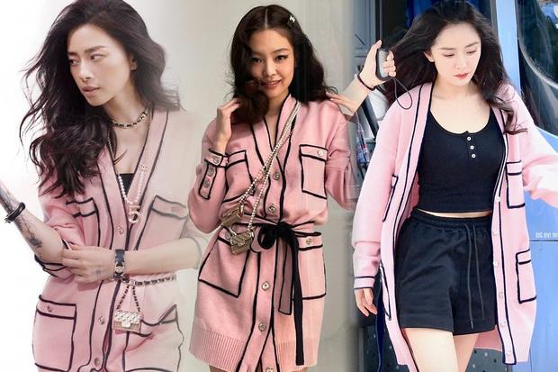 Đụng hàng áo Chanel, Jennie - Ngô Thanh Vân thần thái kiêu sa nhưng màn khoe ngực của Dương Mịch mới là tâm điểm - Ảnh 8.
