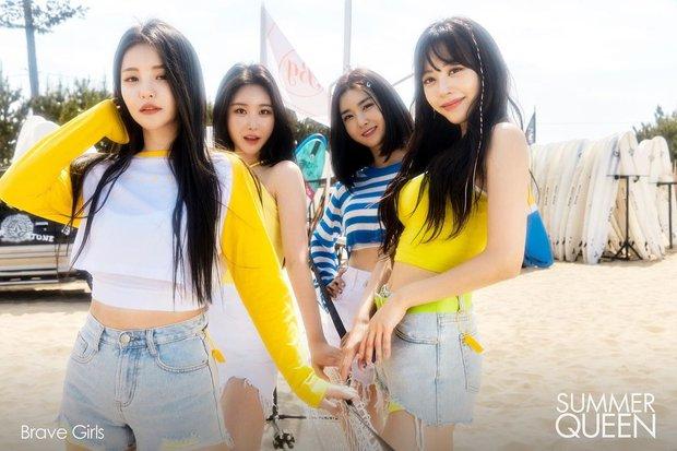 Choáng nặng BXH 30 girlgroup hot nhất: TWICE lên show nước Mỹ mà vẫn bị aespa và Brave Girls đè bẹp, BLACKPINK tụt không phanh - Ảnh 3.