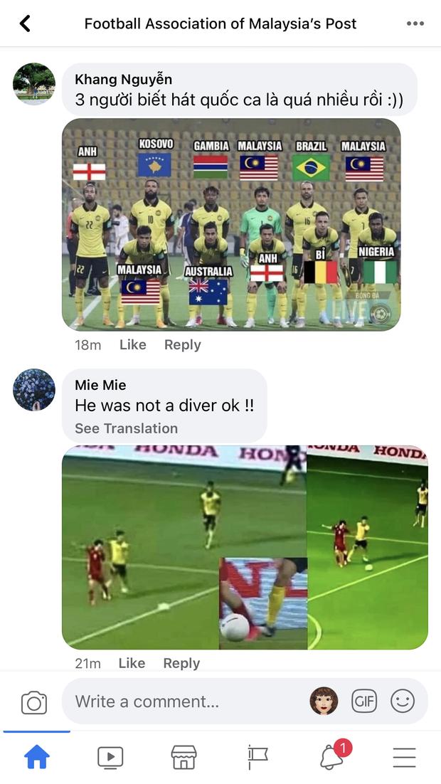 Bị Fanpage của Hiệp hội Liên đoàn bóng đá Malaysia chặn IP, cộng đồng mạng Việt Nam vẫn tìm cách vượt rào - Ảnh 9.