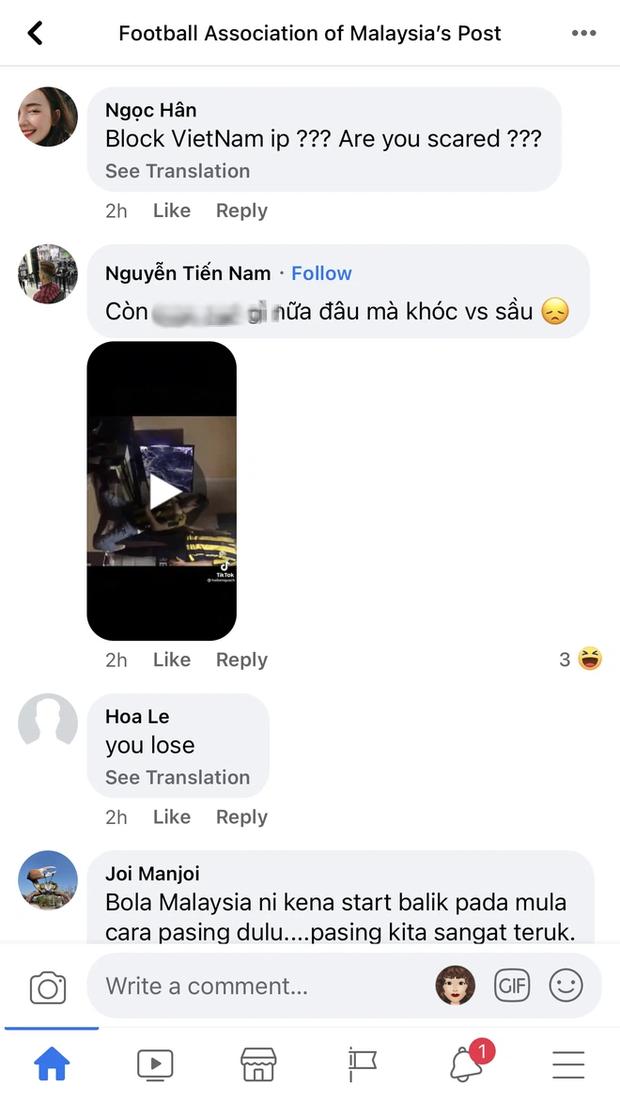 Bị Fanpage của Hiệp hội Liên đoàn bóng đá Malaysia chặn IP, cộng đồng mạng Việt Nam vẫn tìm cách vượt rào - Ảnh 10.