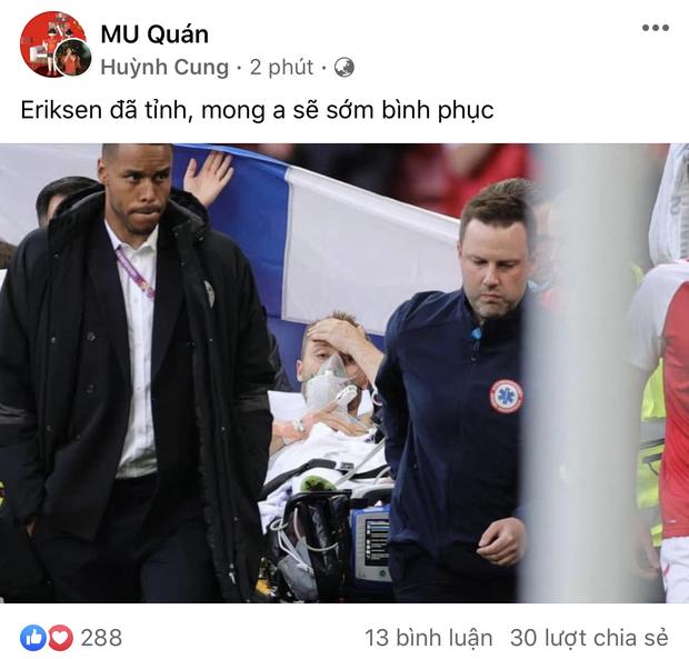 Dân mạng Việt đi từ bàng hoàng đến vỡ oà khi chứng kiến cầu thủ số 1 Đan Mạch đột quỵ ngay trên sân đấu Euro - Ảnh 4.