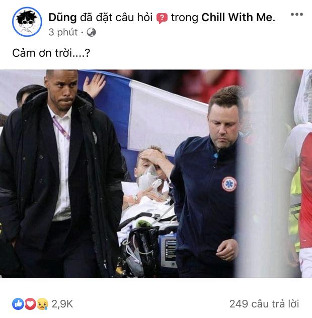 Dân mạng Việt đi từ bàng hoàng đến vỡ oà khi chứng kiến cầu thủ số 1 Đan Mạch đột quỵ ngay trên sân đấu Euro - Ảnh 3.
