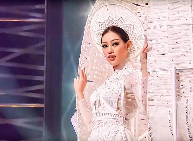 Khánh Vân khoe mặt mộc cực phẩm tại khu cách ly tập trung, quả xứng danh top 21 Miss Universe - Ảnh 6.