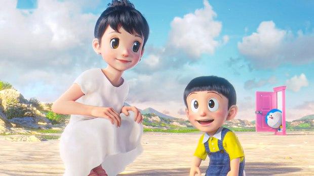 Lộ diện con trai của Nobita - Shizuka ở phim Doraemon mới: Liệu sẽ đẹp như mẹ hay tồ như cha đây? - Ảnh 4.