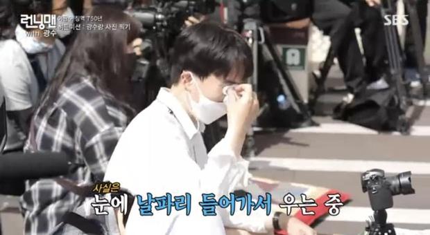 Se Chan khóc gục xuống bàn, So Min và PD nhòe lệ khi chia tay Kwang Soo - Ảnh 5.