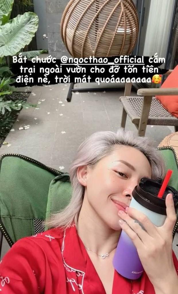 Sao Việt để mặt mộc: Hiền Hồ gây sốt với glass skin căng bóng, Á hậu Kiều Loan giữ ngôi chăm khoe da nhất - Ảnh 4.