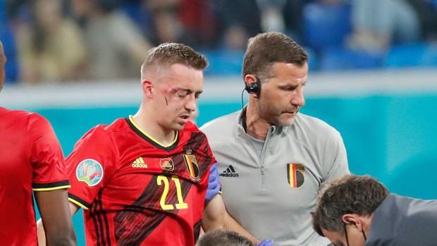 Ngôi sao đội tuyển Bỉ bị vỡ hốc mắt, chính thức chia tay EURO 2020 - Ảnh 1.