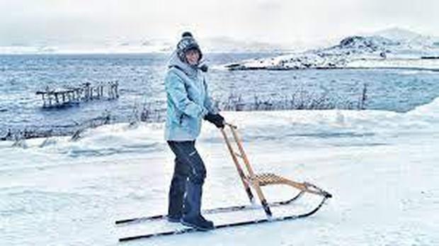 Quá sợ COVID-19, gái xinh chạy một mạch tới Bắc Cực sống cho khỏi bị lây - Ảnh 4.