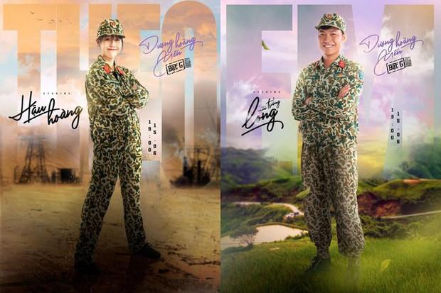 Nam Thư đúng là trưởng nhóm ship Hậu Hoàng - Mũi Trưởng Long rồi, chèo thuyền ngay trên poster MV của Dương Hoàng Yến - Ảnh 5.