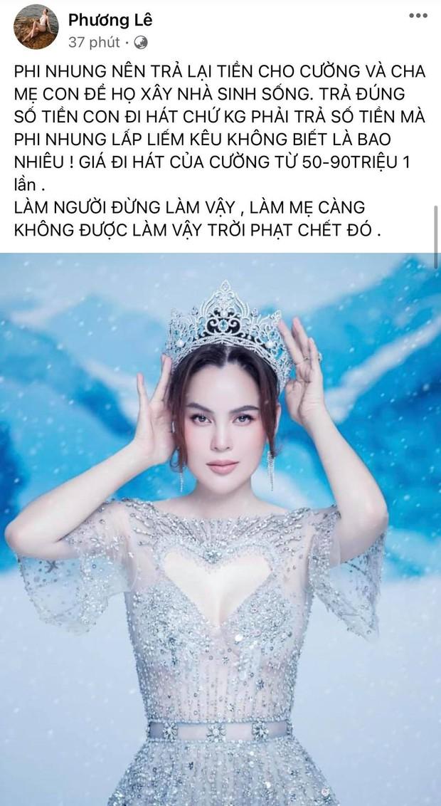 Hoa hậu ở nhà 200 tỷ tố thẳng Phi Nhung lấp liếm tiền bạc, tiết lộ giá cát xê gây choáng của Hồ Văn Cường - Ảnh 2.