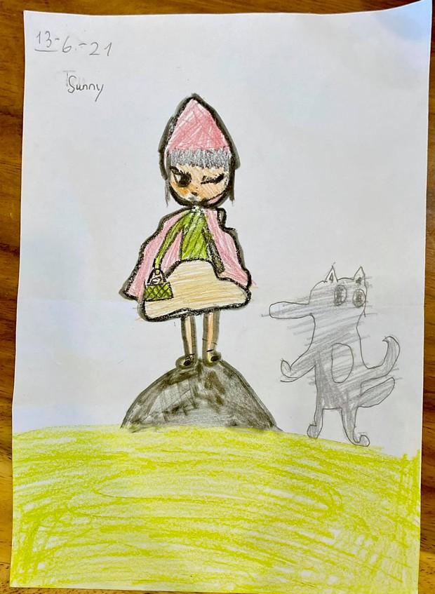 Lý Hải - Minh Hà cầu cứu fan trao giải vẽ tranh tại gia cho các con: Cậu cả vẫn luôn đỉnh nhưng trùm cuối mới cạn lời! - Ảnh 7.