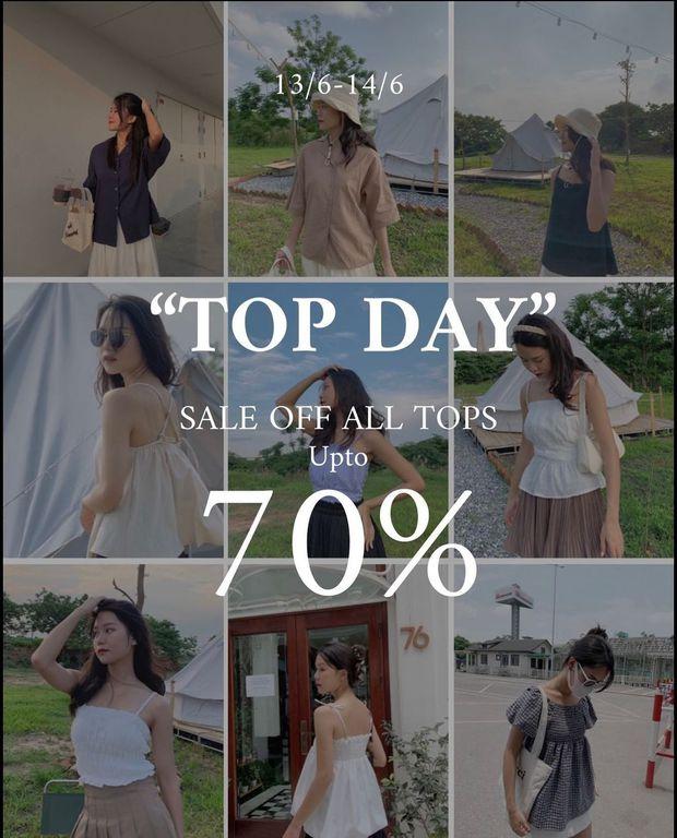 Loạt shop thời trang đang sale rần rần tới 70%: Từ style tiểu thư đến basic bạt ngàn đồ đẹp giá iu - Ảnh 5.