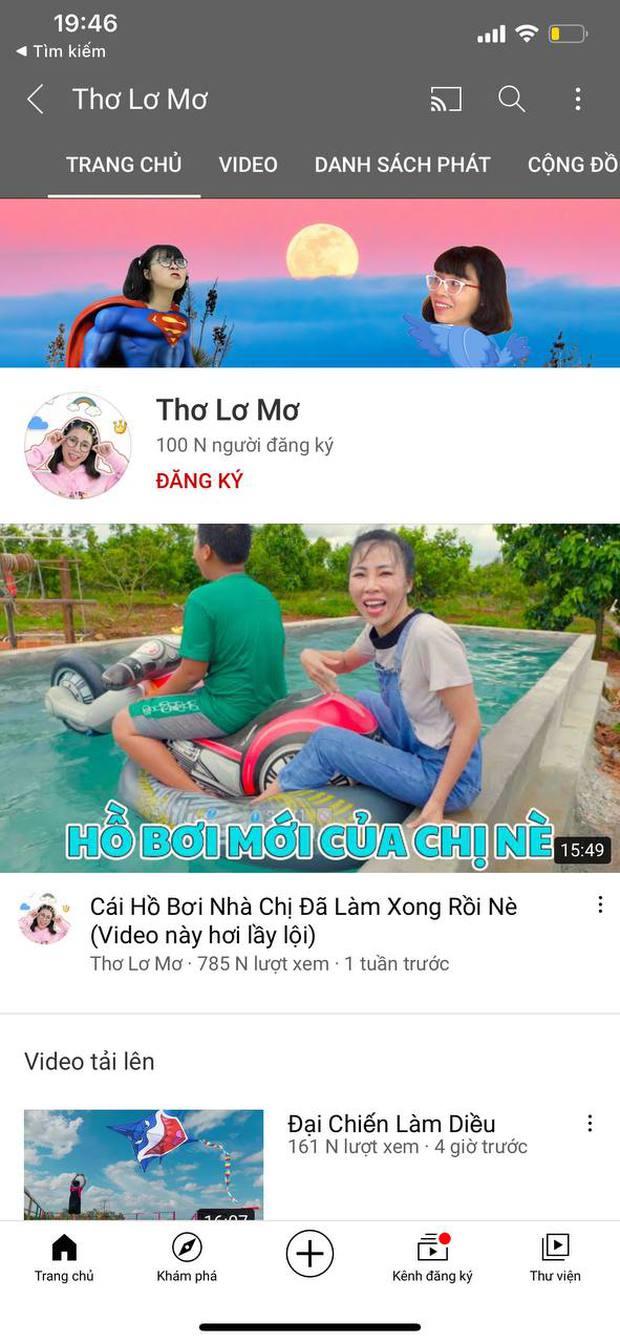 Bị tẩy chay, lên án kịch liệt, kênh YouTube mới của Thơ Nguyễn vẫn dễ dàng đạt nút Bạc chỉ sau 1 tuần - Ảnh 2.