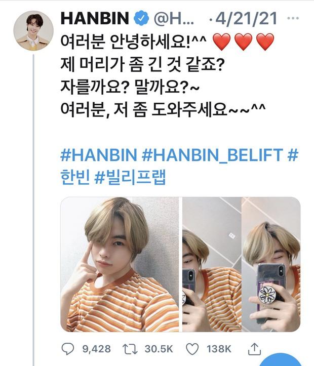 Hanbin chưa debut đã có nửa triệu lượt theo dõi, sẽ là thành viên hút fan cho boygroup sắp tới? - Ảnh 3.