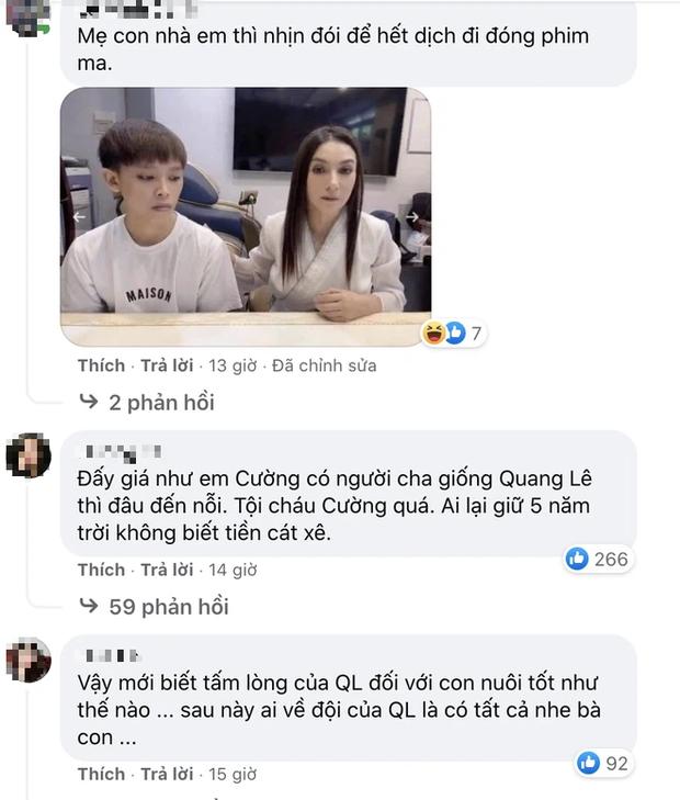Quang Lê đăng ảnh cực tình cảm với con nuôi Phương Mỹ Chi, netizen lập tức spam ảnh Phi Nhung và Hồ Văn Cường để so sánh - Ảnh 3.